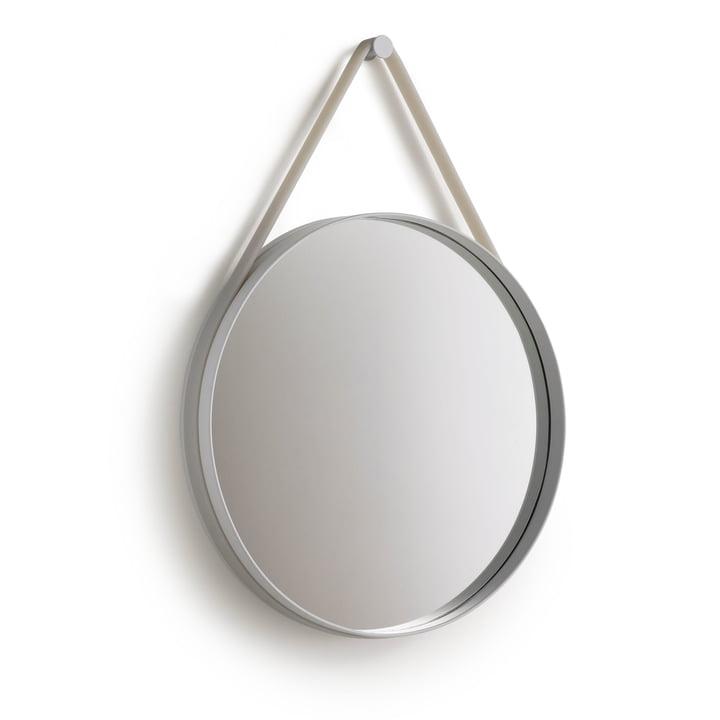 Strap Mirror 50 cm à partir Hay de en gris
