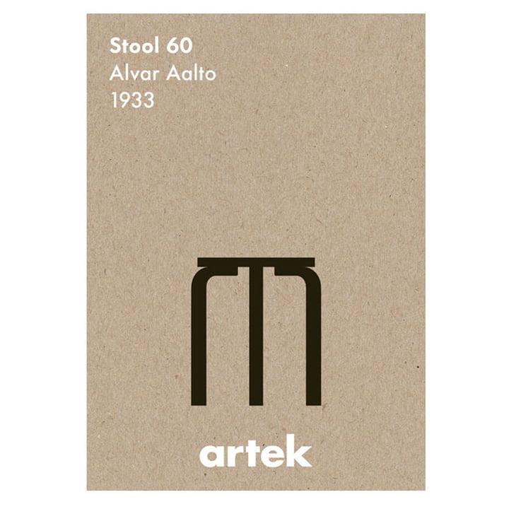 Artek - Icon Poster - tabouret Stool60