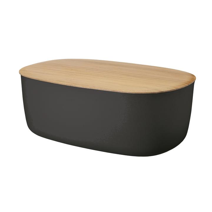 Box-It La poubelle à pain de Rig-Tig par Stelton en noir