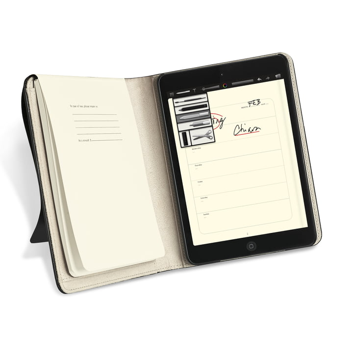 Moleskine - iPad mini Cover - ouvert