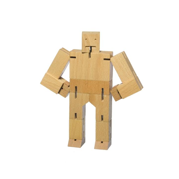areaware - Cubebot, petit, hêtre