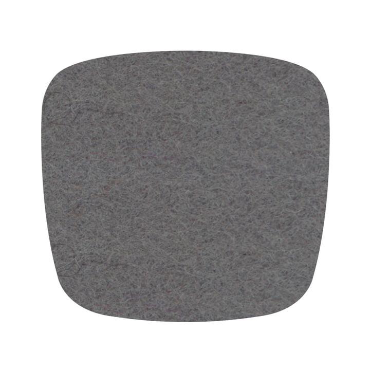 Hey Sign - Coussin de siège en feutre Eames Plastic Side Chair, gris clair chiné