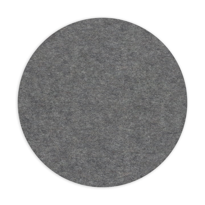Hey Sign - Dessous de plat rond, anthracite