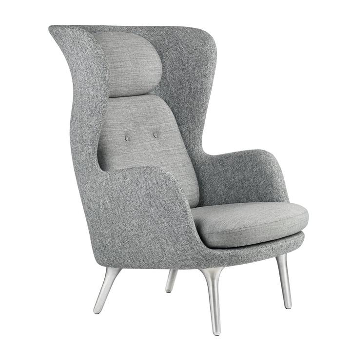 Fritz Hansen - Ro fauteuil,  gris / gris