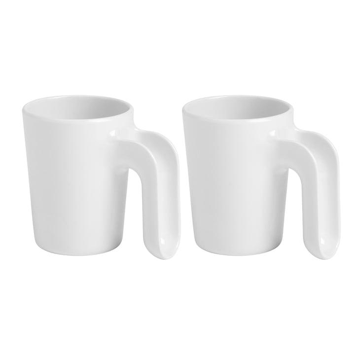 Ole Jensen - Cup II, blanc, lot de 2
