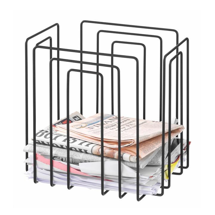 TMP - Collecteur de papier, Compact, noir