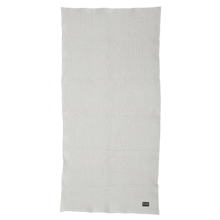 Ferm Living - Serviette de bain Bath Towel, gris clair, 70x140