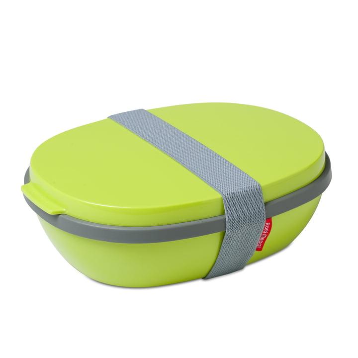 Lunchbox To Go Elipse en lime par Rosti Mepal