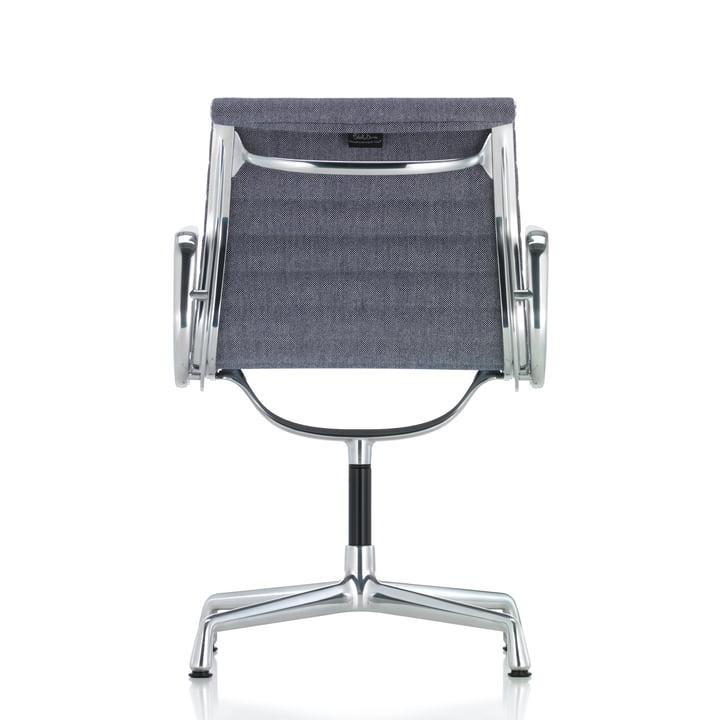 Vitra - EA 104 Chaise de bureau pivotante, Hopsak, bleu foncé /ivoire