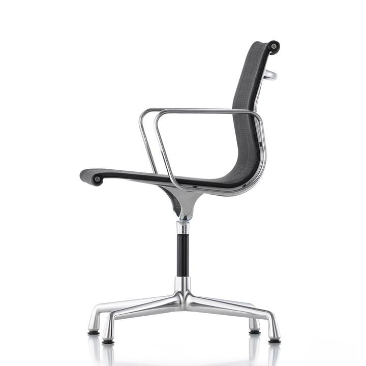 Vitra - EA 104 Chaise de bureau pivotante, Hopsak, nero