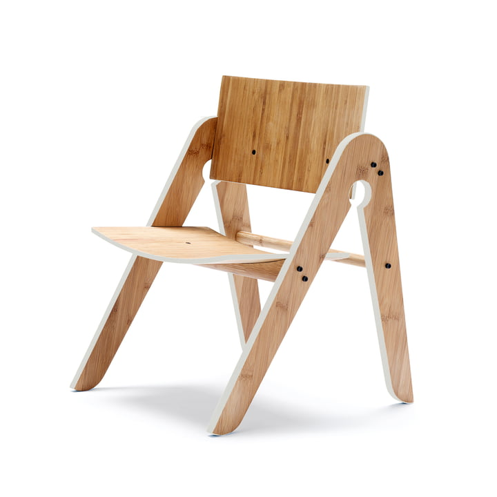 We do wood - Lilly's Chair, gris clair
