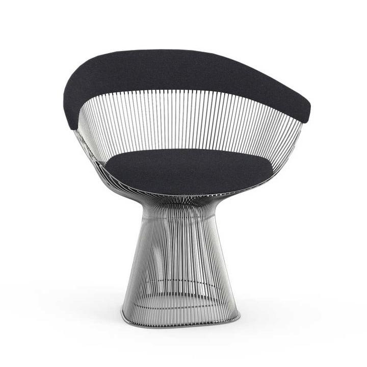 Knoll - Platner fauteuil, petit, nickel poli