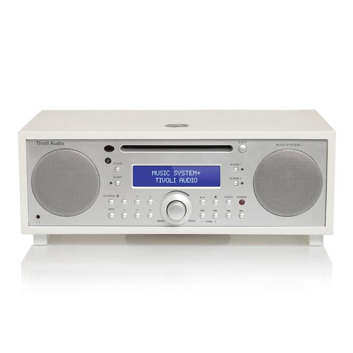 Tivoli Audio - Music System+, blanc/laqué argenté