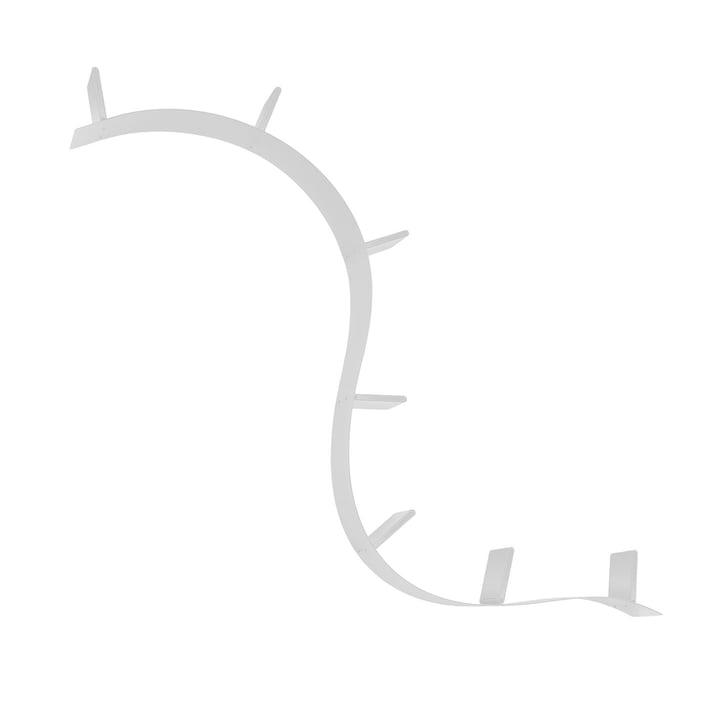 Kartell - Bookworm, étagère courte (1A / aluminium)
