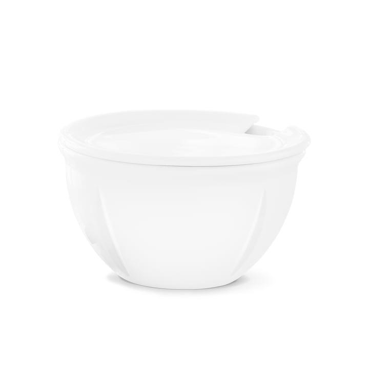 Rosendahl - Sucrier Grand Cru Soft avec couvercle, blanc