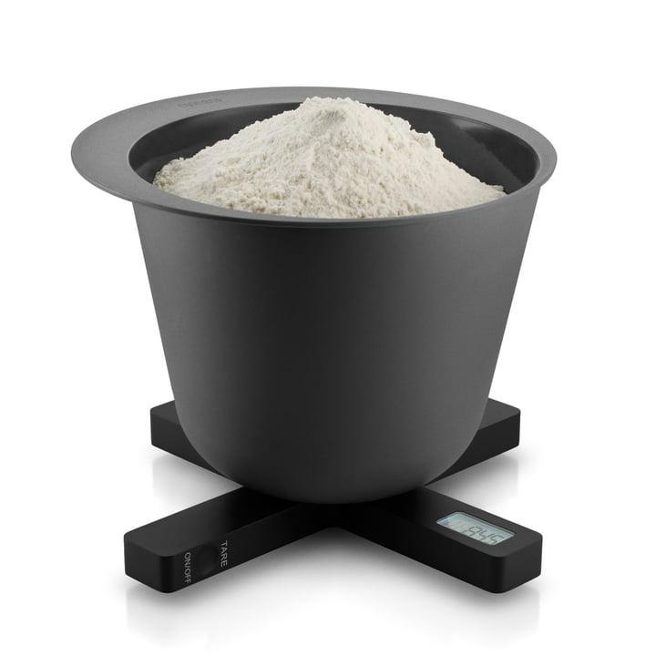 Eva Solo - Balance de cuisine numérique, noir, farine