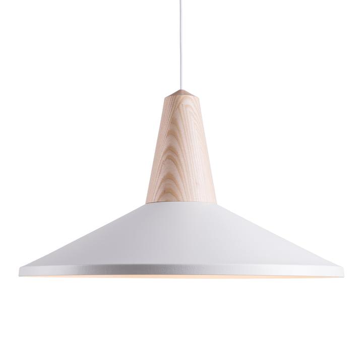 Schneid - Suspension lumineuse Eikon Shell, blanc