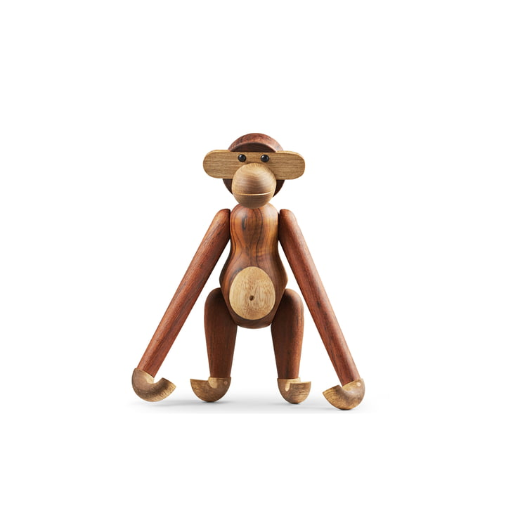 Kay Bojesen Denmark - Singe en bois, petit, 26,5 cm