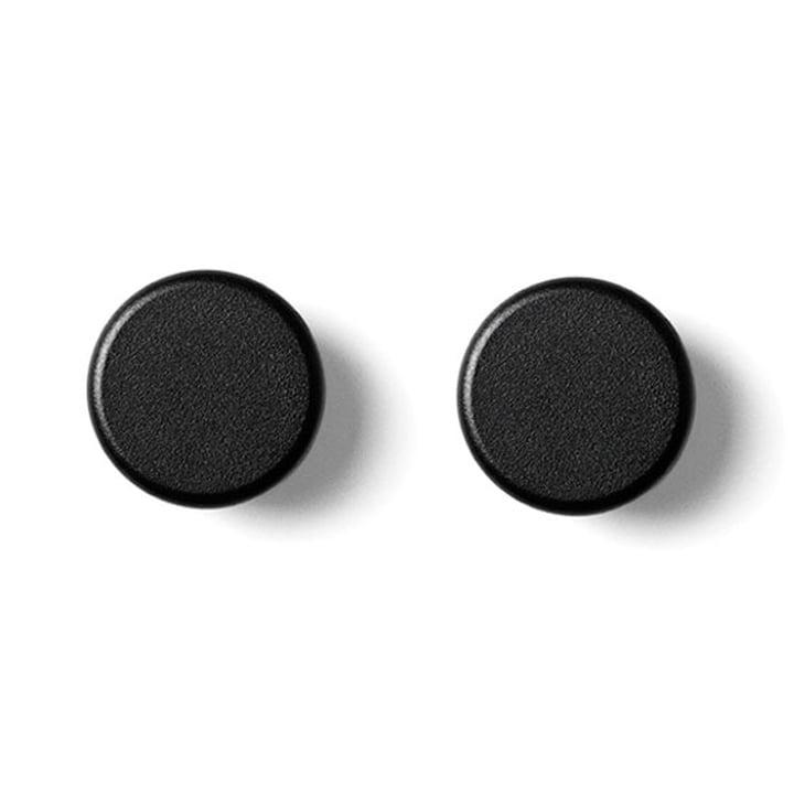Menu - boutons, set de 2 pièces, noir
