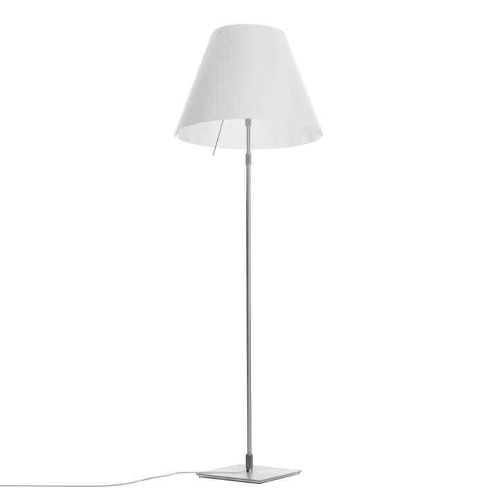 Grande Costanza lampadaire D13 G. t. de Luceplan en aluminium blanc