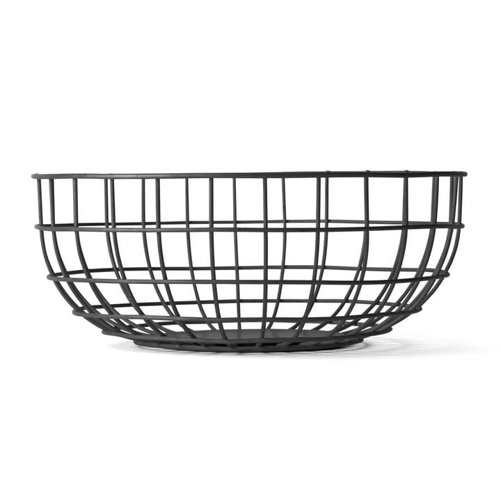 Menu - Norm Wire Bowl, noir