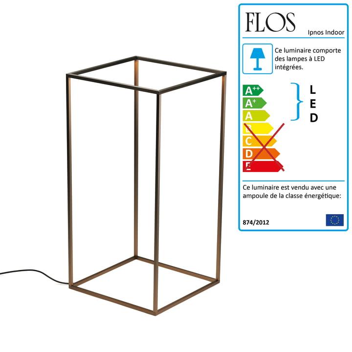 Flos - Lampe de sol Ipnos Indoor, bronze anodisé