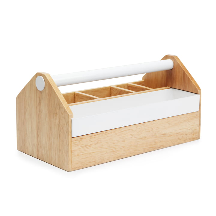 Umbra - Boîte Toto Box, naturel/blanc