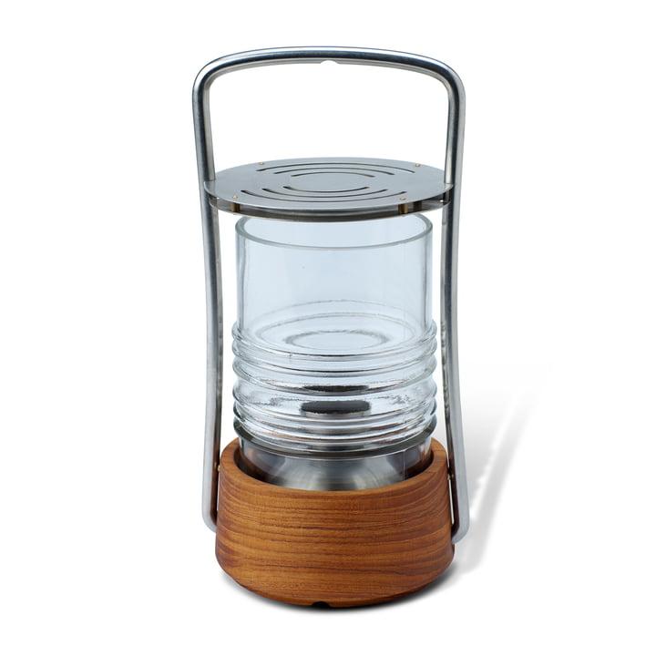 Skagerak - Bollard Lampe à huile, bois de teck