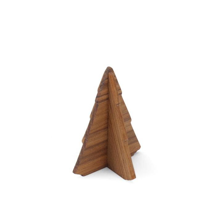 Skagerak - Spruce Tree sapin 9 cm, bois de teck