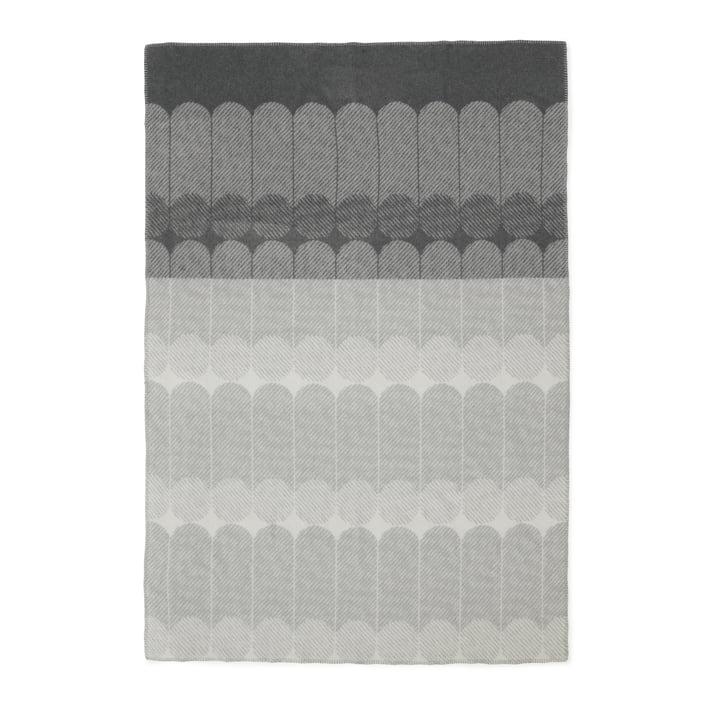 Normann Copenhagen - Couverture en laine Ekko, fumé/gris