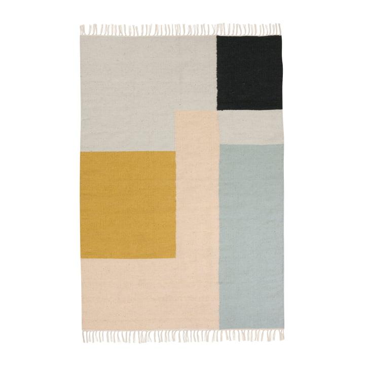 ferm Living - Tapis Kelim, carrés, grand format