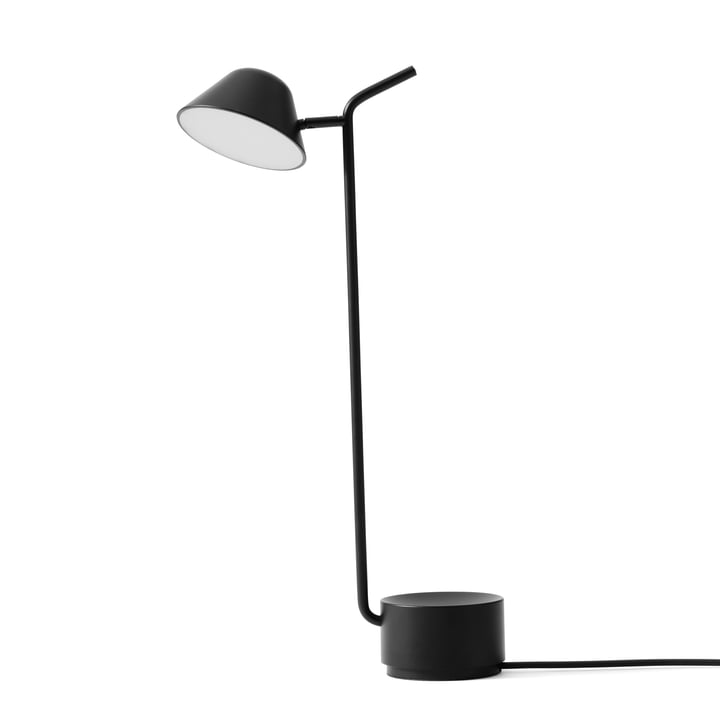 Aperçu de la lampe de table de Menu en noir