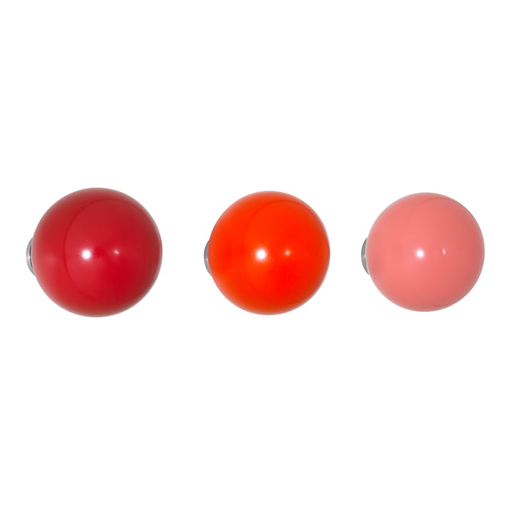 Vitra - Coat Dots, rouge