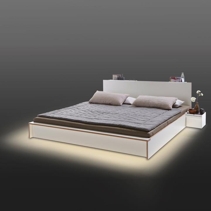 Müller Möbelwerkstätten - Éclairage LED pour le lit Flai