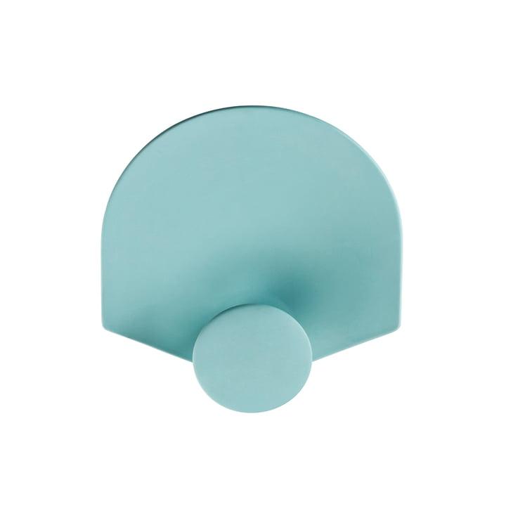 Rosenthal - Patère Meta 15x15cm, vert menthe-vert menthe