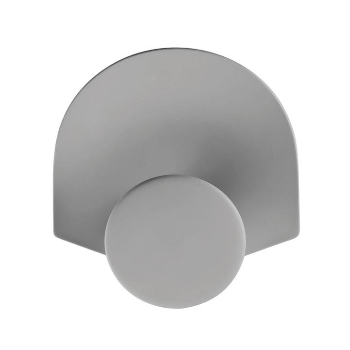 Rosenthal - Patère Meta 18x18cm, gris-gris