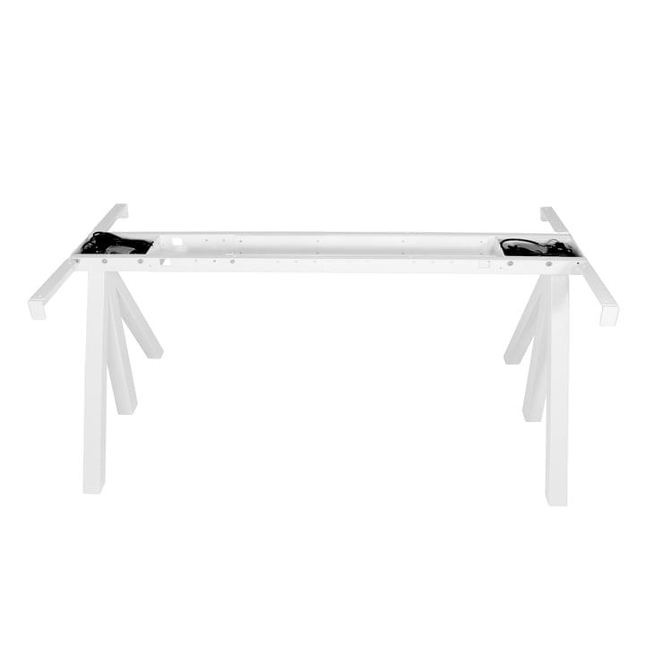 String - Works cadre de la table réglable en hauteur, blanc