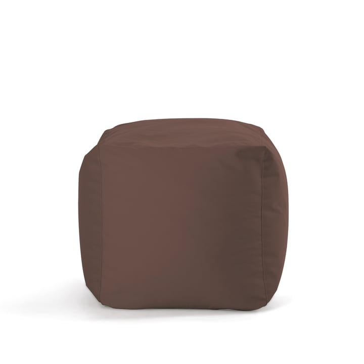 Cube de Sitting Bull en marron