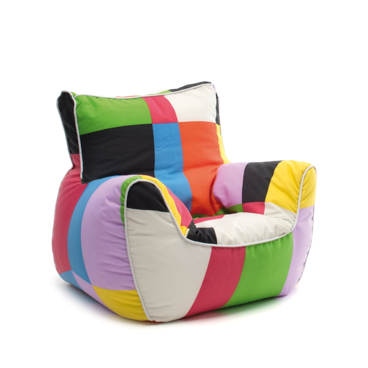 Fauteuil Bamp de Sitting Bull en version patchwork