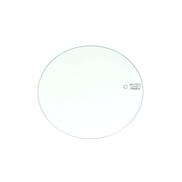 ClassiCon - Plateau de rechange pour la Table ajustable E 1027, cristal