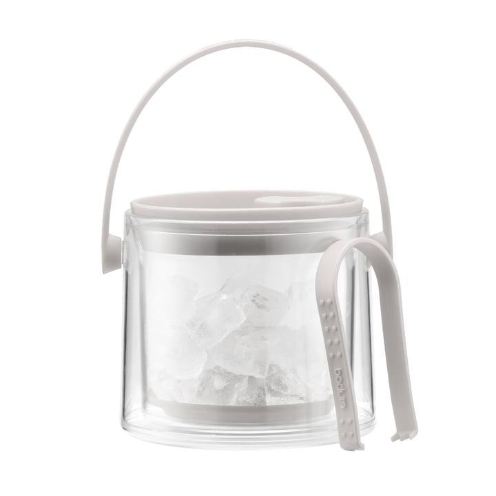 Bodum - Seau à glace avec pince Cool 1,5 l, couleur crème