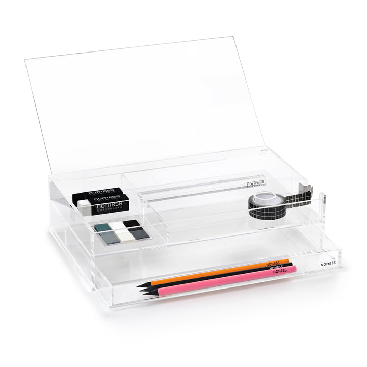 Nomess - Boîte Office Box, transparente