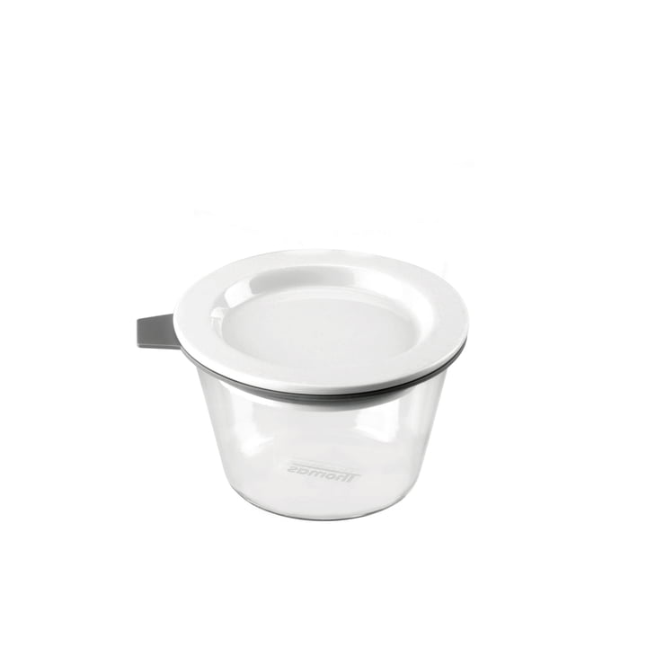 Thomas - Bocal Food Container, 140 ml, anneau en silicone gris