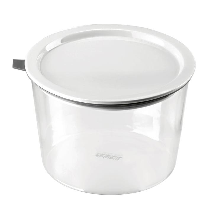 Thomas - Bocal Food Container, 1620 ml, anneau en silicone gris