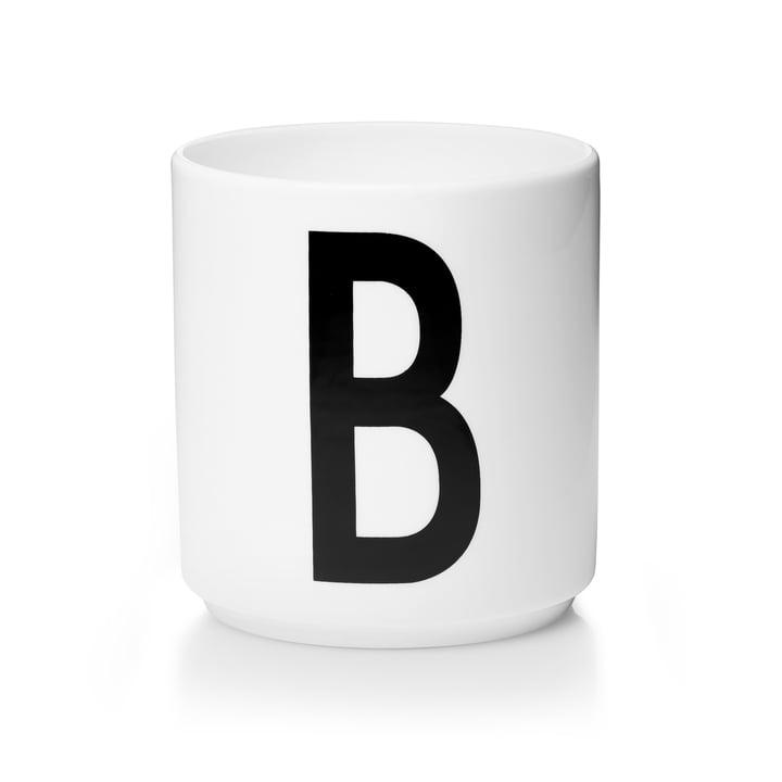 Design Letters - Tasse en porcelaine AJ - B
