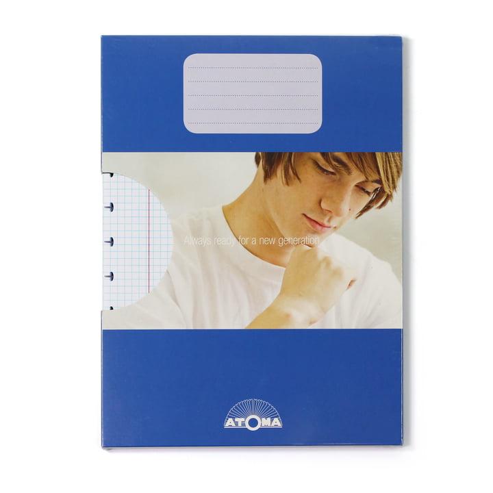 Atoma - Pack de recharge Basic A4 quadrillé, avec emballage