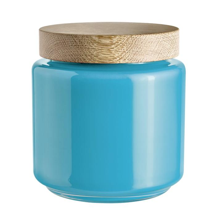 Holmegaard - Bocal avec couvercle Palet, bleu, 2,0 l
