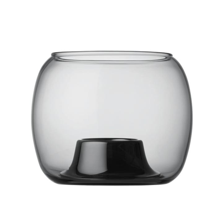 Iittala - Kaasa support pour bougies à chauffe-plat 141 x 115 mm, gris