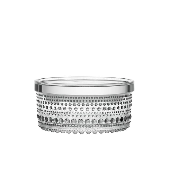Kastehelmi boîte de rangement 116 x 57 mm d'Iittala en verre transparent