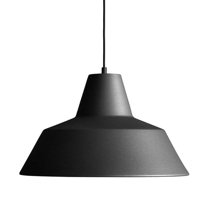 Made by Hand - Lampe Workshop W4 en noir anthracite